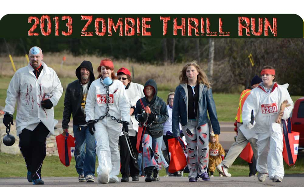 The 1st Annual Zombie Thrill Run