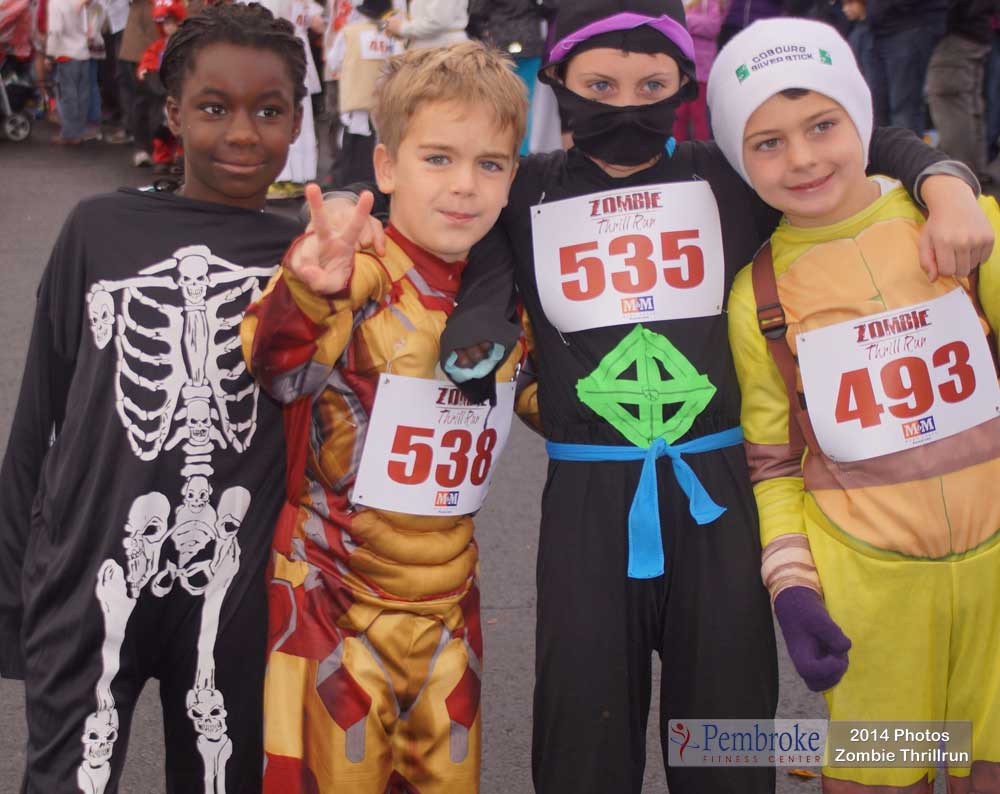 2nd Annual Zombie Thrill Run 2014