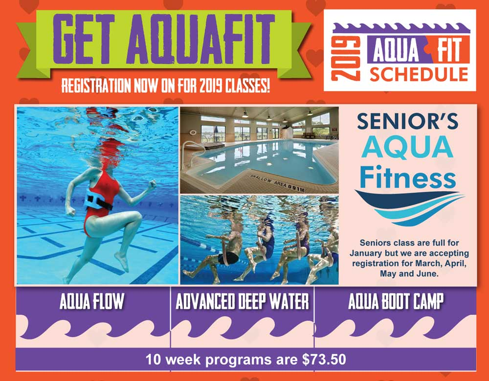 Register for Aqua Fit Classes
