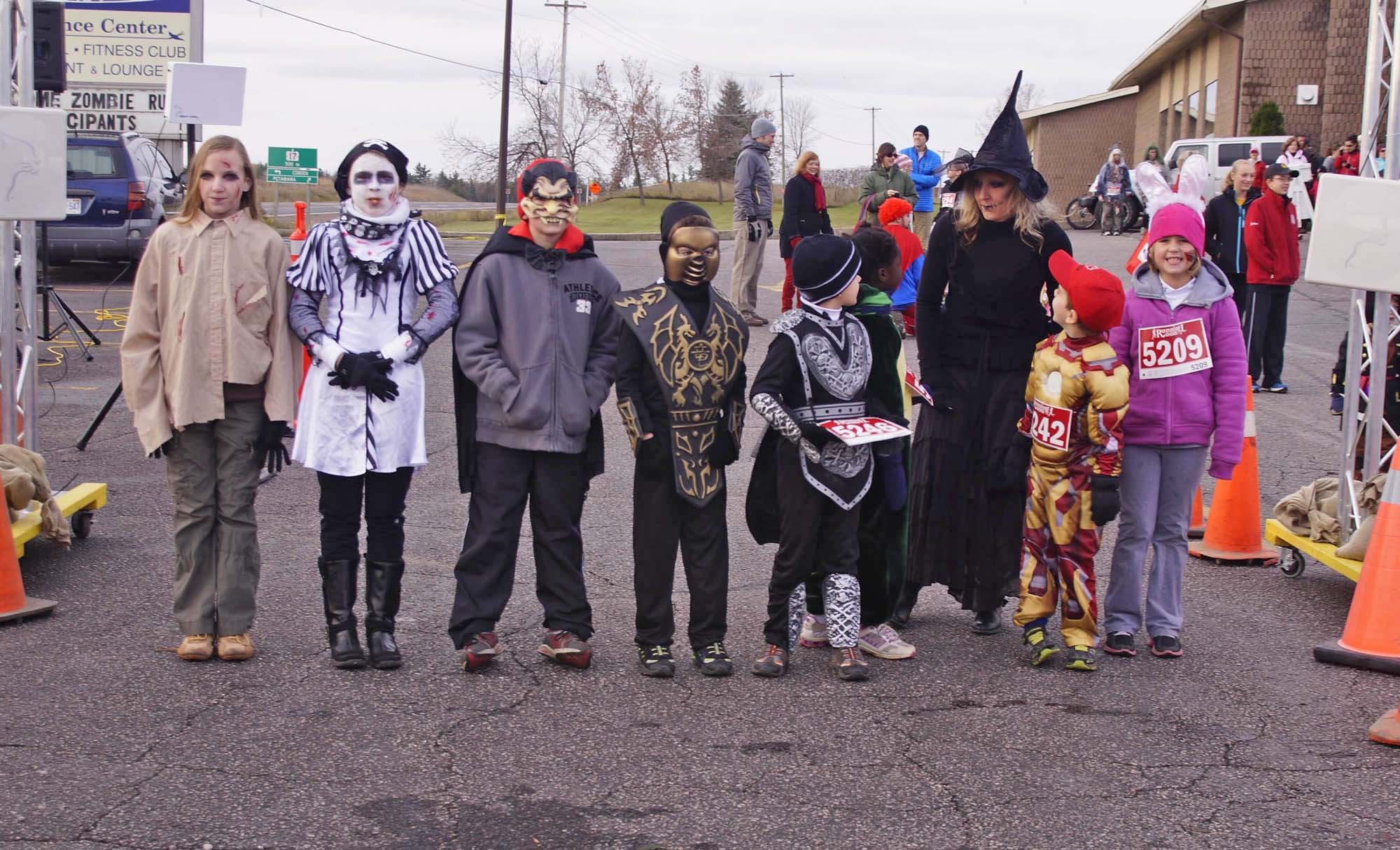 The Beginning: 2013 Zombie Thrill Run