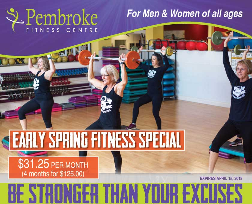 Early Spring Fitness Special