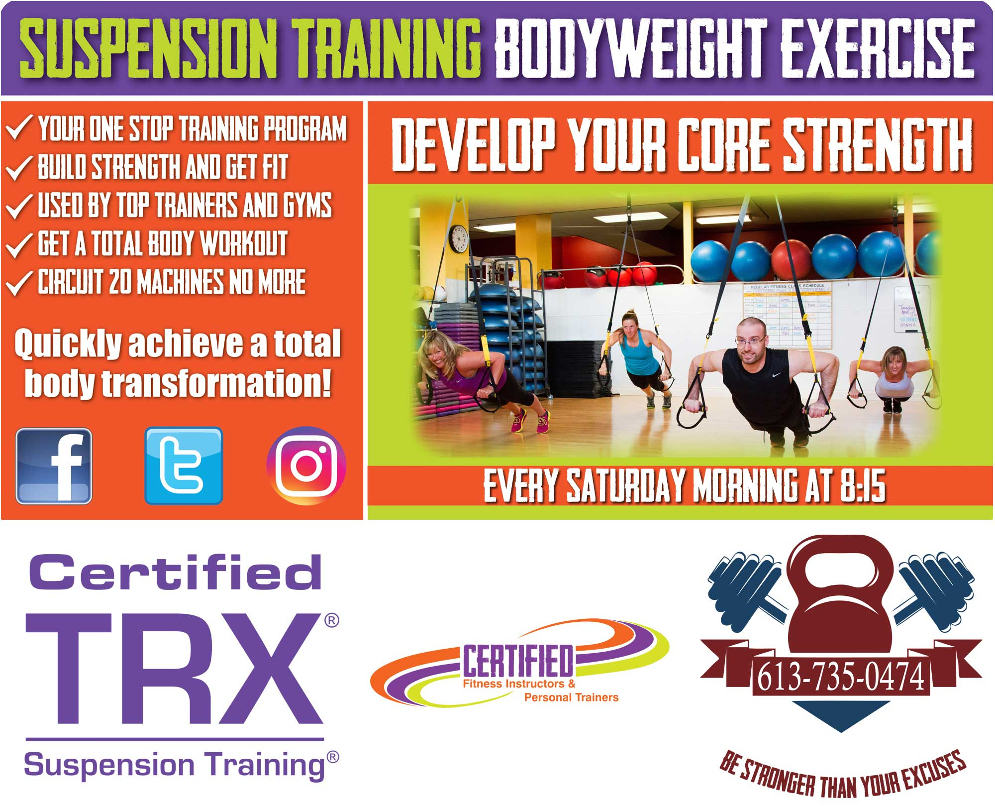 TRX Training for Core Strength