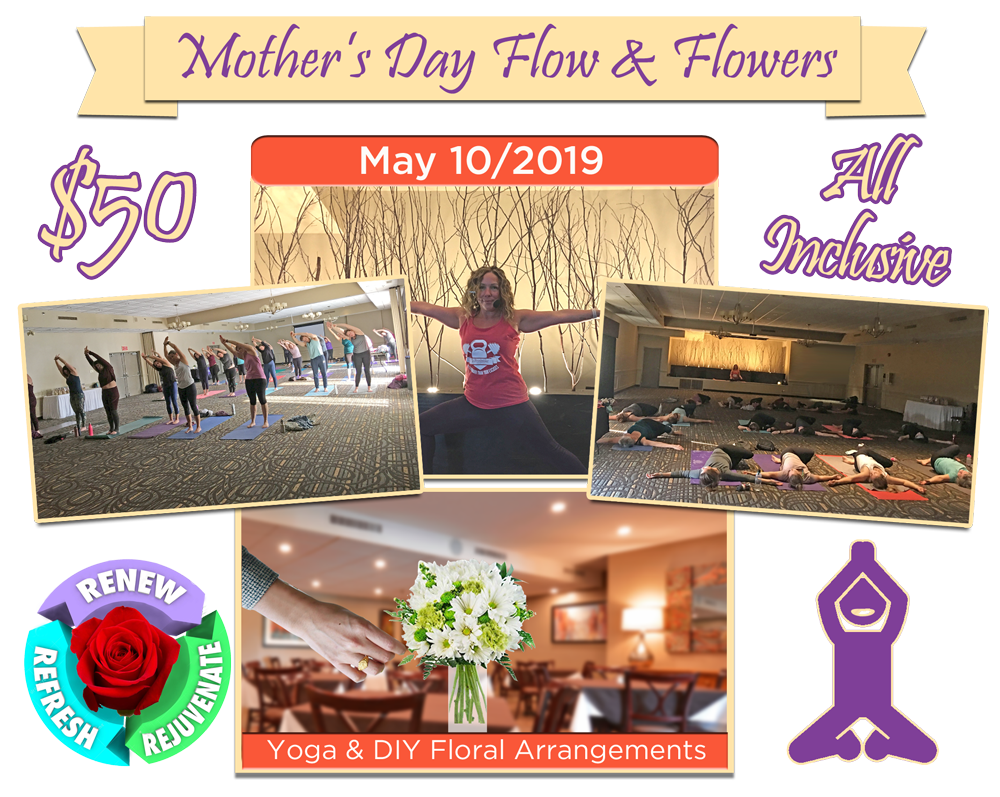 Mother's Day Yoga & Floral Arrangements [Expired]
