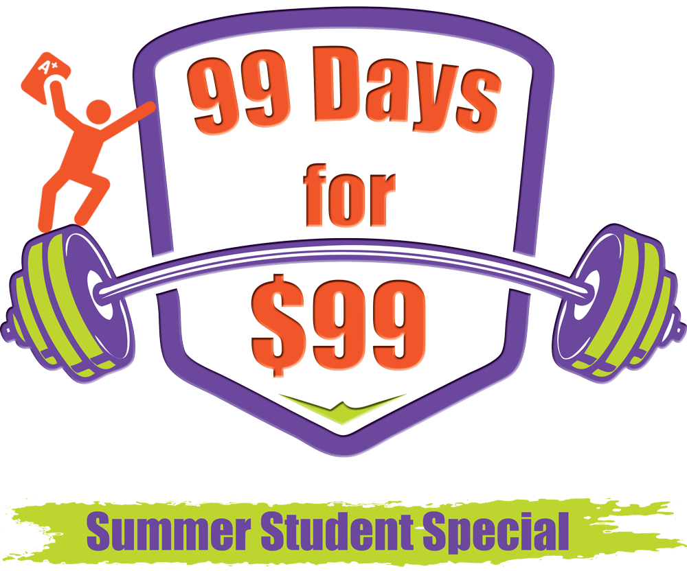 99 Days for $99 Summer Fitness Schedule