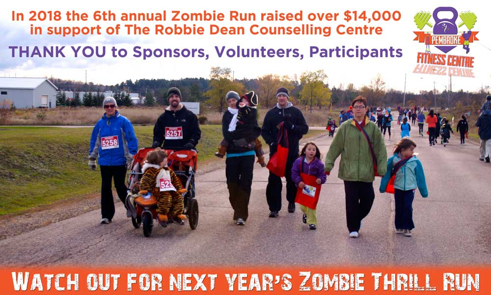 Be Afraid of Next Year's Zombie Thrill Run!