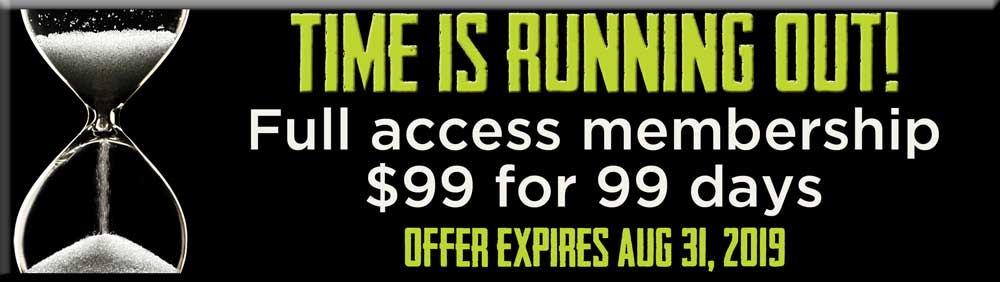99 days for $99 Fitness Special