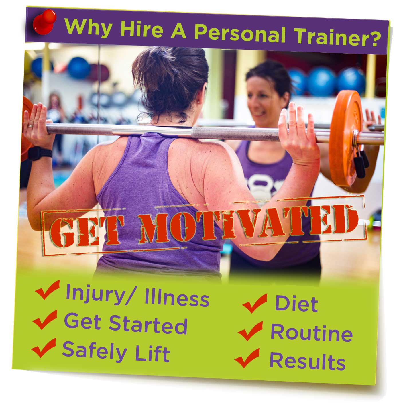 Hire a Personal Trainer Today!