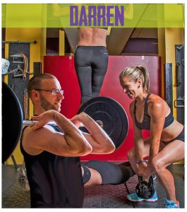 Weightlifting Instructor Darren