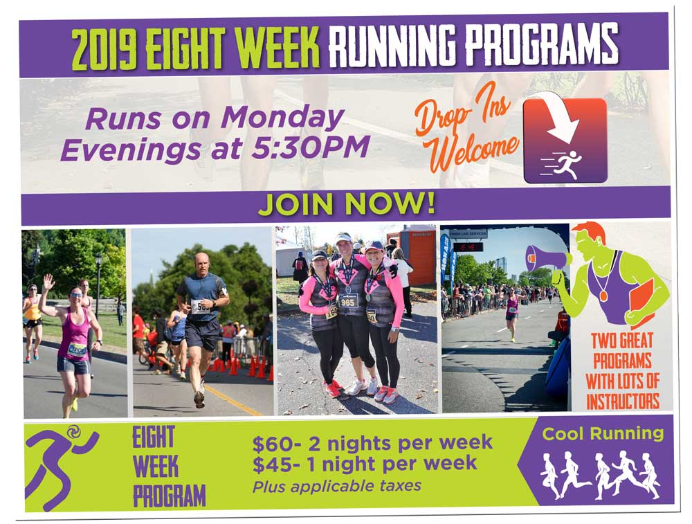 8 Week running program