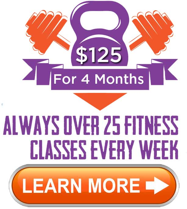 Four Months for $125 fitness special