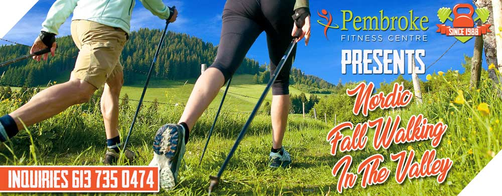 Fall Nordic Walking in The Valley