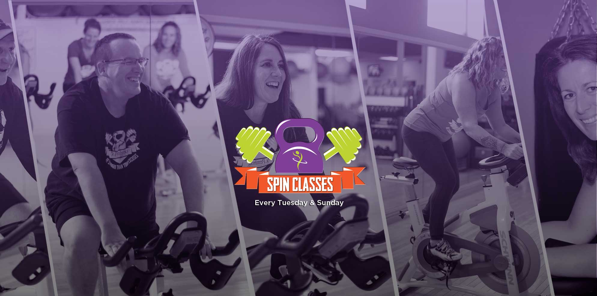 Sign up for a spin class today!