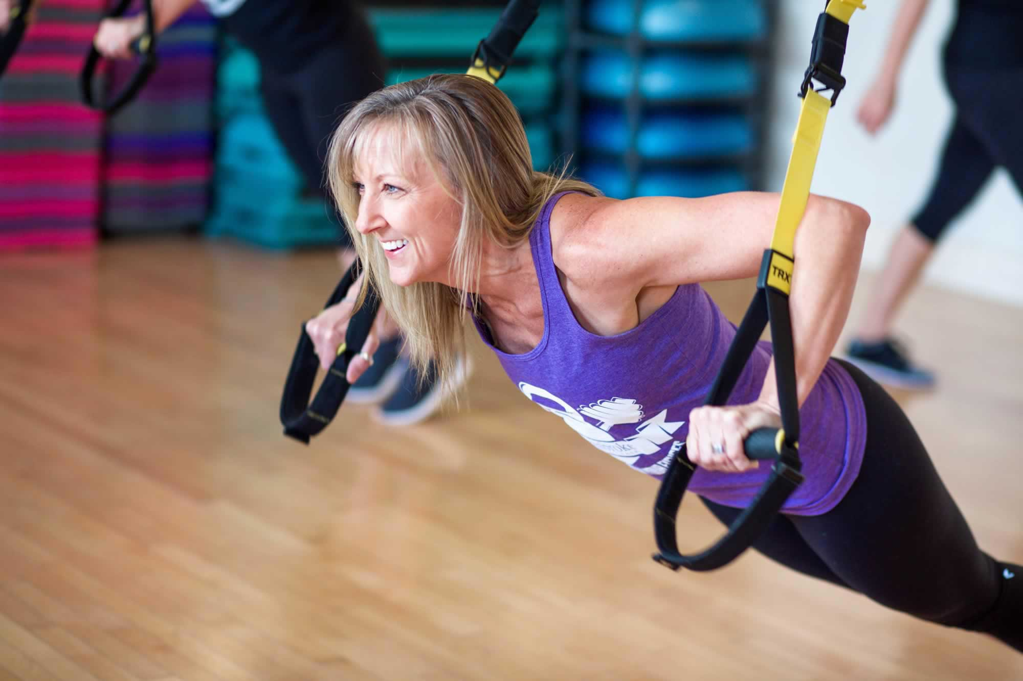 TRX Training with Tracy