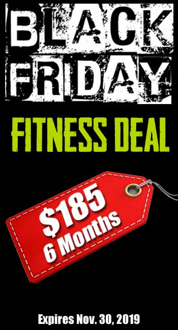 Black Friday Fitness Deal