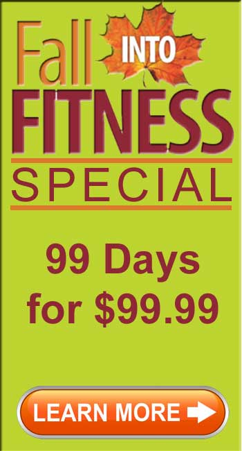Workout this Fall at Summer Prices