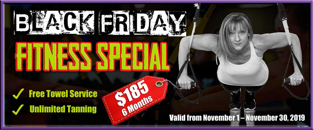 Black Friday Fitness Special in Pembroke