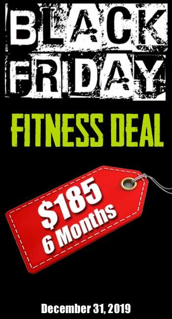 Black Friday Fitness Deal