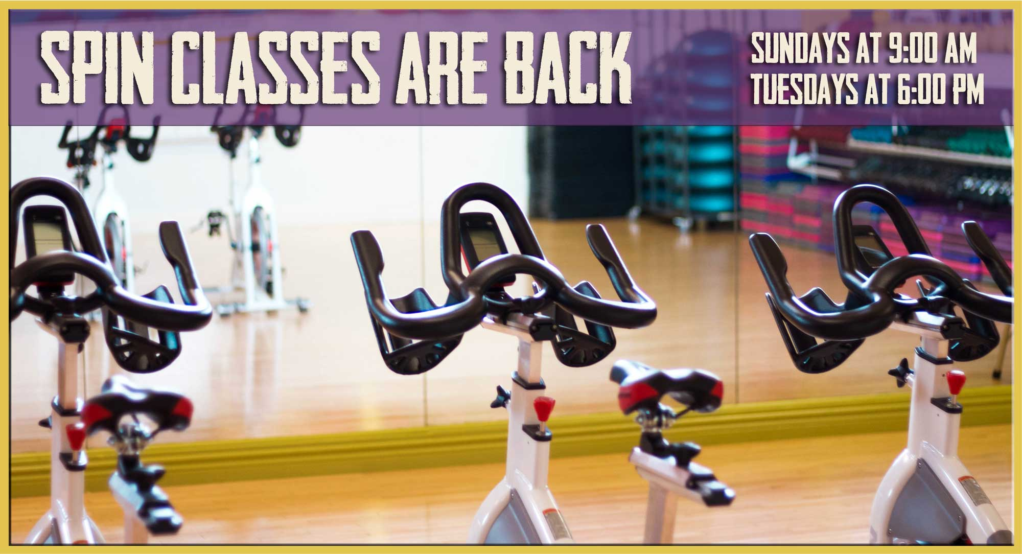 Join our Growing Spin Class Membership- Burn Calories Like never before!